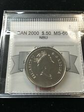 2000  Coin Mart Graded Canadian  ¢50 Cent, **MS-66 NBU**