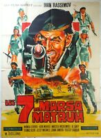 Plakat Kino Les 7 Von Marsa Matruh - 120 X 160 CM
