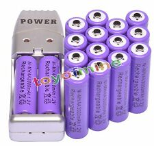 16x AA 2A 1.2V Ni-MH 3000mAh Rechargeable Battery for Mp3 RC Toys + USB Charger