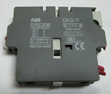 USED ABB CAL5-11 AUXILIARY CONTACT Used Cut Out     /    CB1