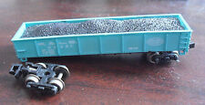 Vintage Bachmann N Guage NYC P&LE 43221 Gondola Car with Load