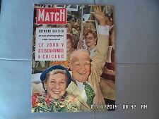 PARIS MATCH N°175 19 JUIL 1952 EISENHOWER A CHICAGO LEONARD DE VINCI    G35