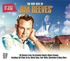 2 CD BOX VERY BEST OF JIM REEVES HE'LL HAVE TO GO RAMONA MARIA ELENA I LOVE YOU