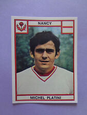 FIGURINA CALCIATORI STICKERS FOOTBALL PLATINI NANCY FRANCE F NEW- FIO