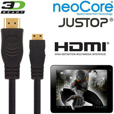 NeoCore N1, Elite, JUSTOP jtouch Android Tablet PC Mini HDMI a HDMI TV 5M Cavo