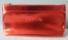 FRESH F21C  MAKEUP/COSMETIC BAG IN CORAL NEW