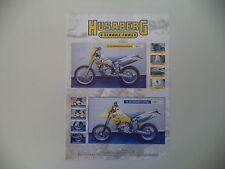 advertising Pubblicità 2006 MOTO HUSABERG FE 550 ENDURO/SUPERMOTO