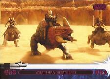 "Star Wars Jedi Legacy - Magenta Parallel Card 35A ""Battles the Reek"""