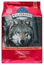 Blue Buffalo Wilderness High Protein Diet with Salmon Adult Dry Dog Food 24lb