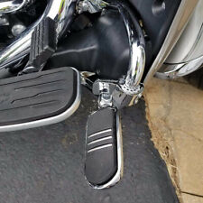 2x Chrome Footpegs Motorcycle Foot Pegs Footrest Fits For Harley Touring Victory (Fits: Mastiff)