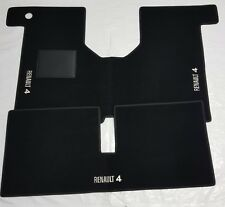 4 Fix Compatibili! RICAMO TURBO bianco TAPPETI RENAULT R5 ALPINE