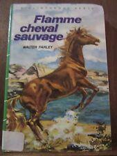 Walter Farley: Flamme cheval sauvage / Bibliothèque Verte, 1986