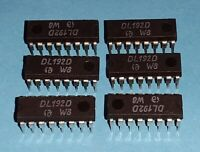 6x org. RFT DDR DL192D SL74192 4 Bit Zähler NOS Qualität VEB Frankfurt Oder