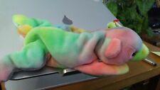 Ty Beanie Babies Sammy - tye dye bear, 1998 1999