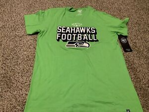 '47 Brand NFL Seattle Seahawks  Green Shirt Men's Size: Medium NWT