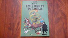 TINTIN LES SEPT BOULES DE CRISTAL 1966 - HERGE - EXCELLENT ETAT
