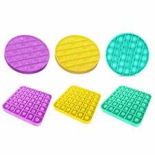 Pop it Square Fidget Toy Push Bubble Stress Relief Kids Tiktok Family Games UK