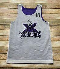 SACRAMENTO MONARCHS Practice Jersey Vtg 90s WNBA Purple Women Small Youth Medium