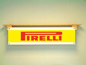 Pirelli Tyres BANNER for Workshop Garage Tyre Bay Advertising