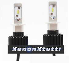 KIT FULL LED H1 6000K XENON 8000 LM LUMEN LAMPADE LED Luxeon ZES