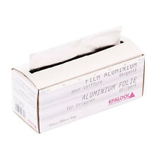 Efalock Alufolie silber 100m/12cm/12my mit praktischer Abreißkante