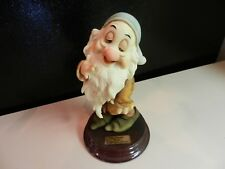 "Walt Disney's SLEEPY Figurine by GIUSEPPE ARMANI, approx. 6 1/2"" TALL.  NIB"
