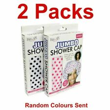Jumbo Reusable Shower Cap Bathing Salon Caps Waterproof Large