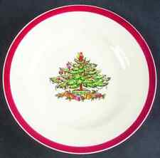 Spode CHRISTMAS TREE (RED TRIM) Bread & Butter Plate 677465