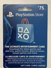 playstation store card