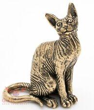 Bronze Figurine of Sphynx cat