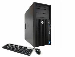 HP Z420 4-Core Xeon E5-1620v2 3.7GHz 64GB Ram 480GB SDD 2TB HDD Nvidia K4000 3GB