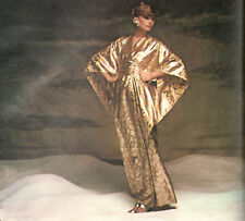 1973 Vintage VOGUE Sewing Pattern B34 CAFTAN DRESS ROBE (R877R)