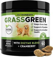 New listing PetHonesty GrassGreen Grass Burn Spot Dog Chews / Pee Lawn Spot Saver / 90 Chews