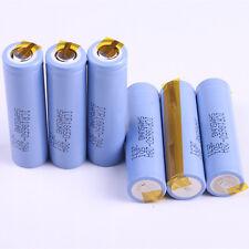 6PCS Samsung ICR18650-28A battery 2800mah Li-ion Battery With Tabs