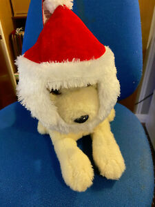 New 'Pets at Home' Santa Hat with Beard for small dog or cat Brand New