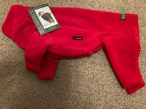 Equafleece Polartec Full Dog Suit in Red size 24,  Brand New