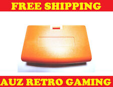 Nintendo GBA GameBoy Advance ORANGE Battery Cover Replacement Lid Door Game Boy