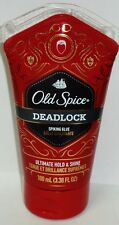 1 Old Spice DEADLOCK Spiking Glue Ultimate Hold & Shine Spiked Up Look 3.38 oz E