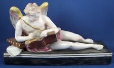 Antique 18thC Niderviller Porcelain Cupid Figurine Figure Porzellan Figur French