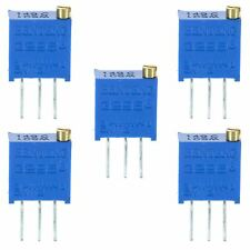 5 X 1m 3296 multiturn variable potenciómetro Trimmer pot Resistor