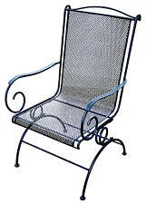 New listing Uptown Patio Collection Coil-Spring Rocker, Black Steel, Must Purchase in
