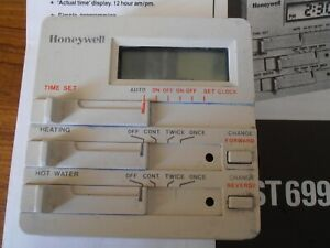 Honeywell Microelectronic Heating Programmer - ST699B - Instructions