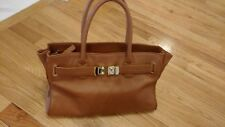 Onna Ehrlich Maya Leather Purse Satchel Handbag