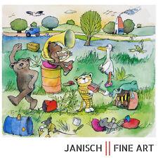 """JANOSCH - """"Geburtstagslied für eine Gans"""", handsigniert, Auflage 99, 2013!"""