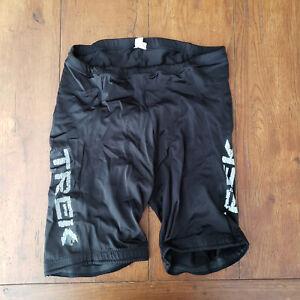 Vintage Trek Mens XL Cycling Shorts Compression Padded USA Made Black
