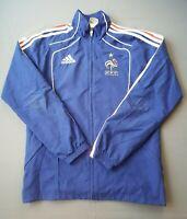 France soccer jacket small full zip vintage retro football Adidas ig93 4.5/5