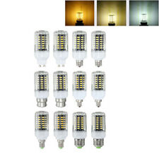 E27 E17 E14 E12 GU10 B22 5W 500LM LED Warm Pure Natural White Corn Light Blub AC