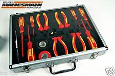 Elektro Werkzeugsatz 13tlg  Werkeugkoffer Werkzeugset Elektriker Werkzeug 1000V