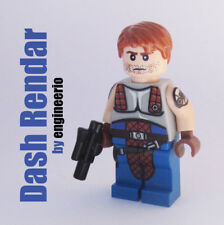 Custom - Dash Rendar - Star Wars minifigures han solo with lego bricks