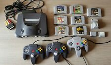 CONSOLA NINTENDO 64 VERSION PAL